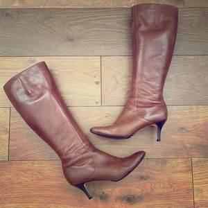 Cole Haan Brown, Knee-high Boots, 10B